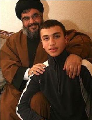 Hassan Nasrallah and Jihad Mughniyeh