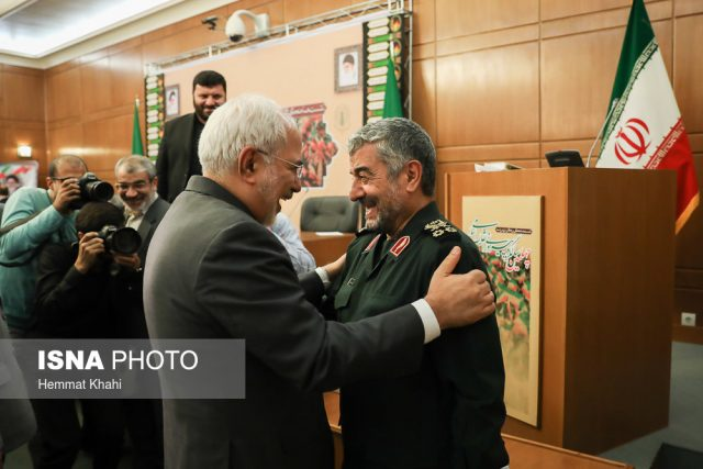 Mohammad Ali Jafari, and Mohammad Javad Zarif