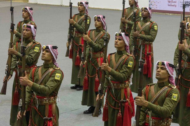 Members of the Jordanian army