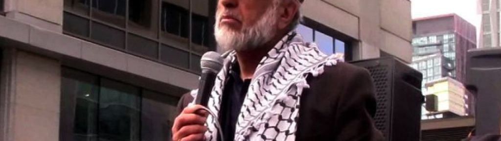 Zafar Bangash calls for eradication of Zionism, Israel and dezionisation of Jews