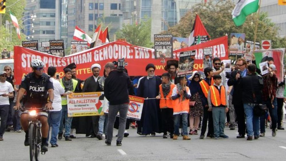 """Toronto Al-Quds Day: """"Nothing is more anti-Semitic than Zionism"""""""