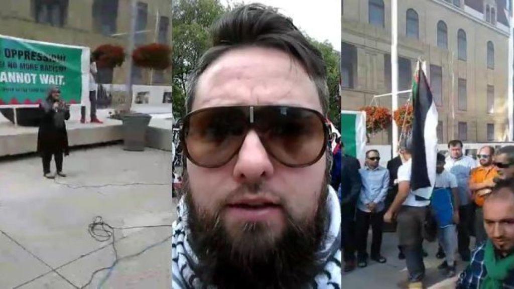 "Calgary BDS activist: ""Netanyahu acting worse than the western zio version of Hitler"""