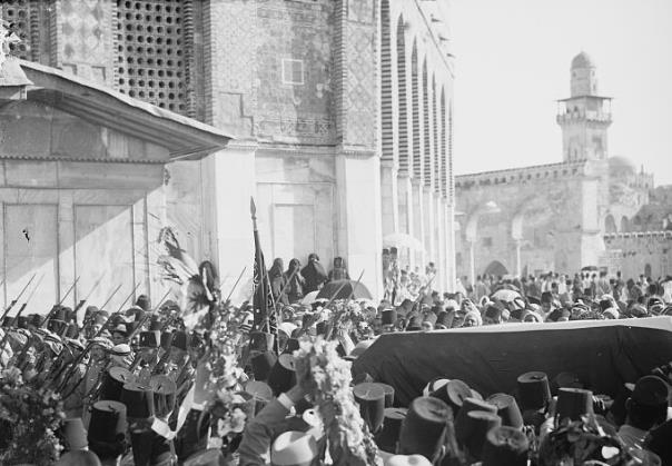 Funeral of the King of Hejaz