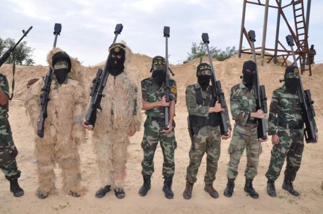 Hamas and Islamic Jihad snipers