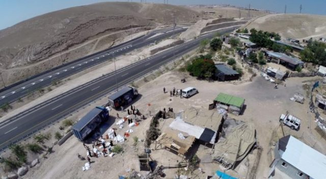 Khan al-Ahmar Bedouin camp