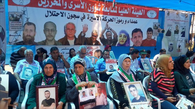 Families of imprisoned terrorists