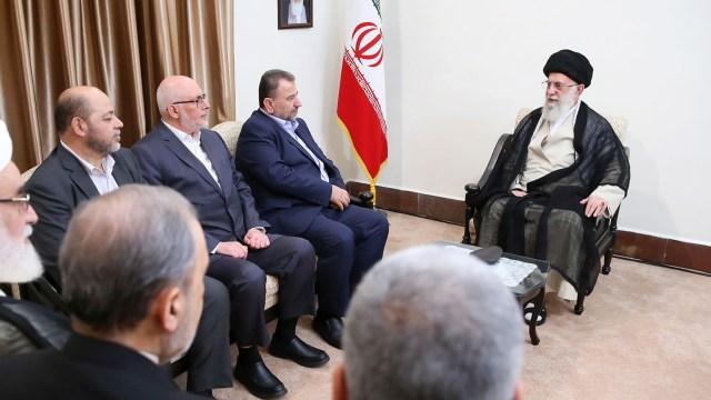 Khamenei, Arouri, Salah, and Abu Marzouk