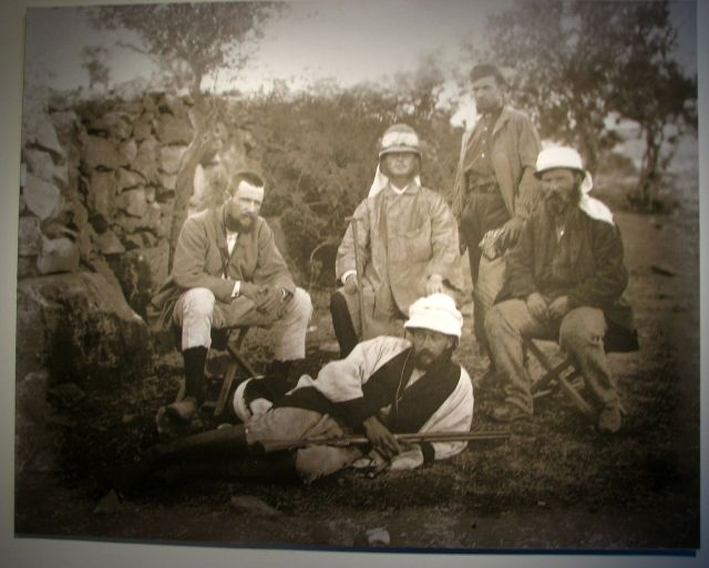 Warren's expedition team in Jerusalem