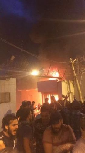 Demonstrators take control of Iranian Consulate in Karbala