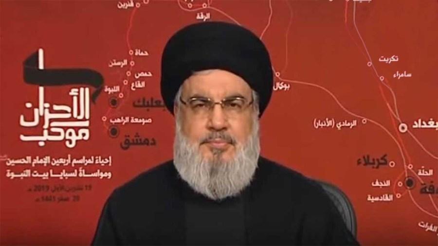 Hizbullah's Nasrallah Defends the Besieged Lebanese Government