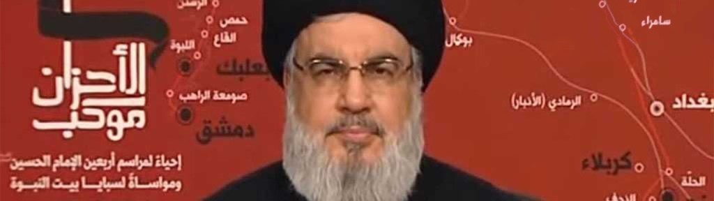 Hizbullah's Nasrallah Defends the Besieged Lebanese Government