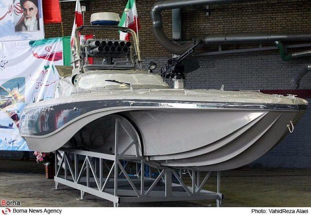 Iran's fast boat, the Seraj