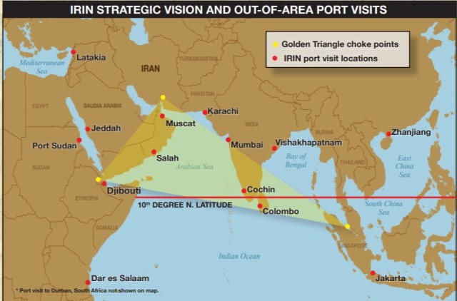 Irin Strategic Vision and Out-of-area Port Visits