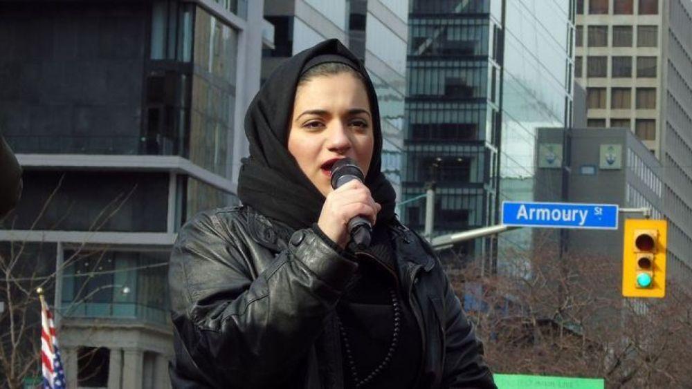 "Nasim Asgari: ""Zionism is a world atrocity"""