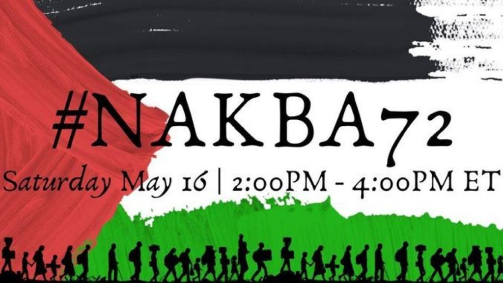 Independent Jewish Voices Canada to commemorate the Palestinian Nakba (Catastrophe)