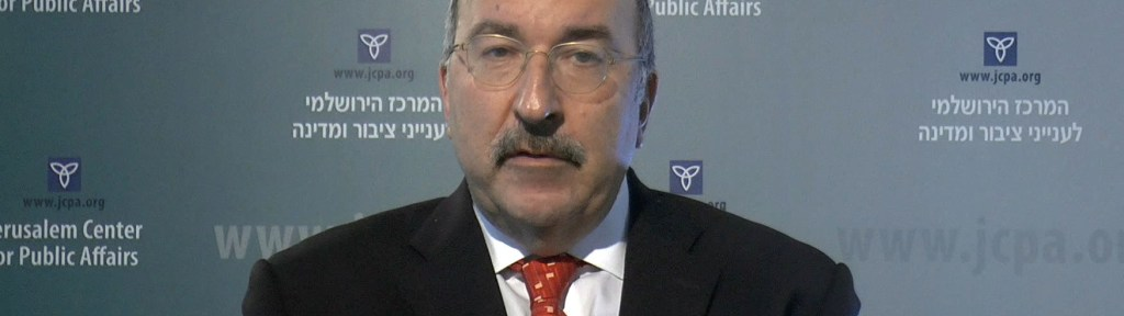 "Dore Gold: Does the Term ""Annexation"" Even Apply?"