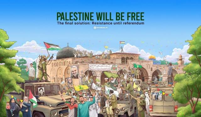 Palestine will be free. The final solution: Resistance until referendum