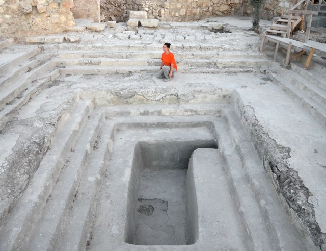 A mikvah from Second Temple days
