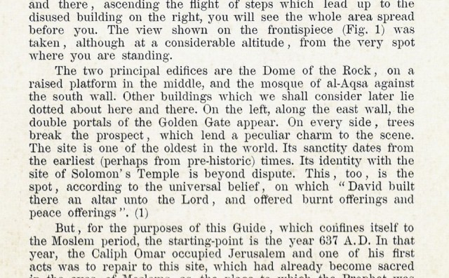 A guidebook to the Temple Mount