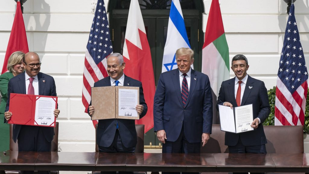 What Was in the Abraham Accords Signed in Washington?