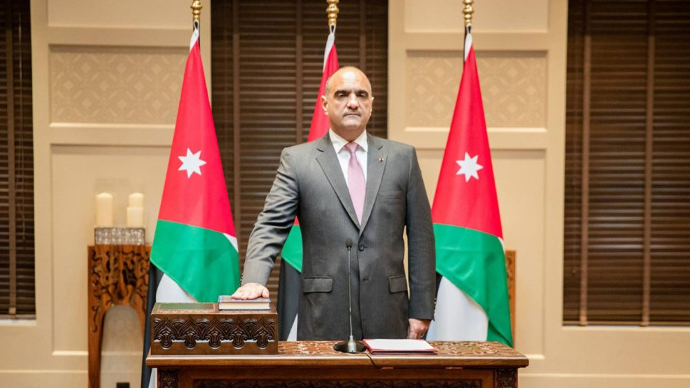 Jordan's New Government Indicates a Change in Emphasis