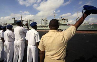The Iranian Navy's Kharg transport ship
