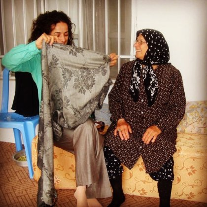Masih Alinejad and her mother