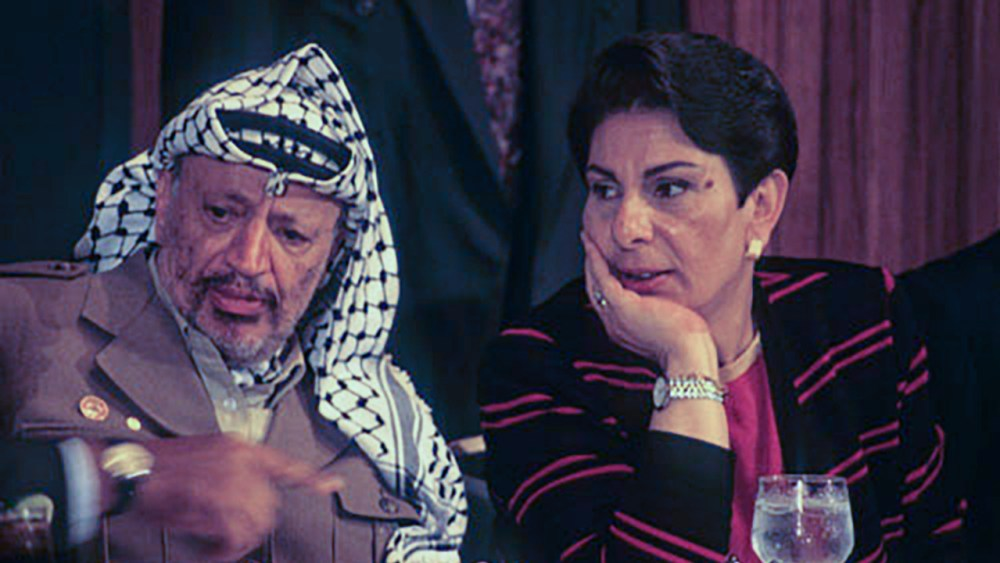 Hanan Ashrawi and the Palestinian Liberation Organization