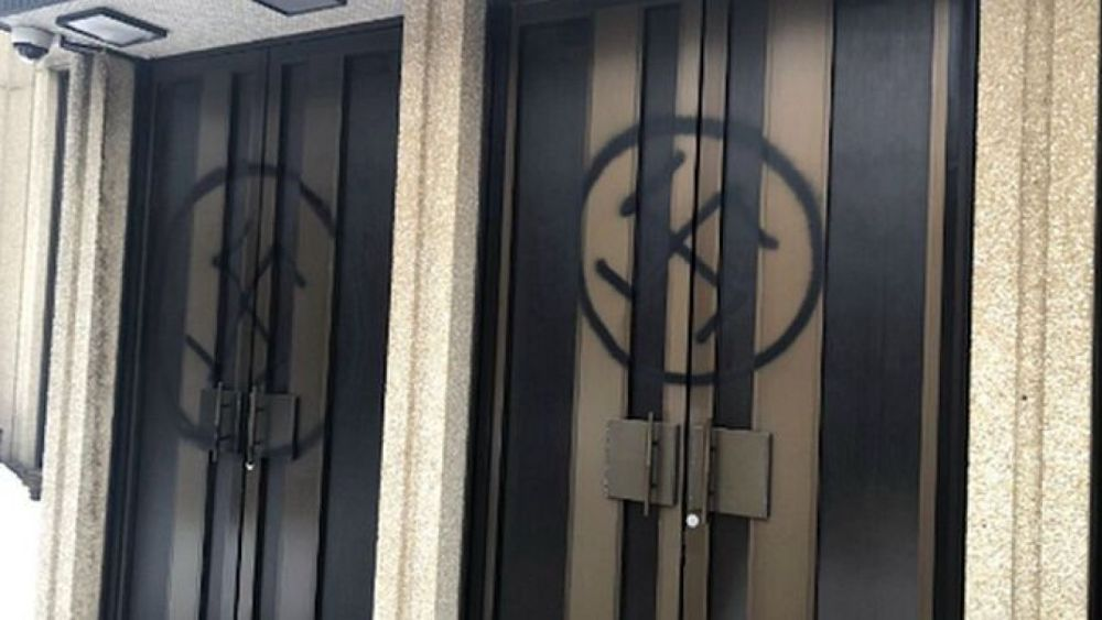 Montreal synagogue vandalized with swastikas