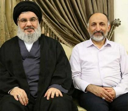 Hizbullah's Nasrallah and the IRGC's Hejazi