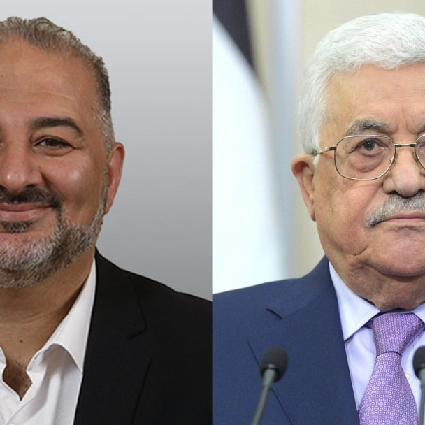Mansour Abbas, Mahmoud Abbas, and the Abraham Effect