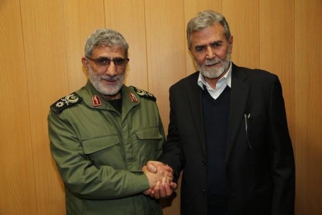 Esmail Ghanni and Ziyad Nakhalah