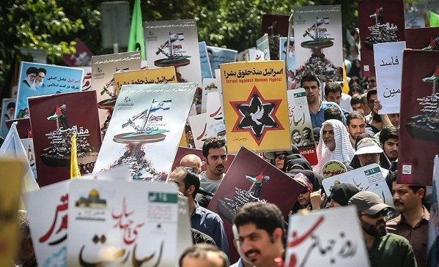 Quds Day commemorated in Tehran