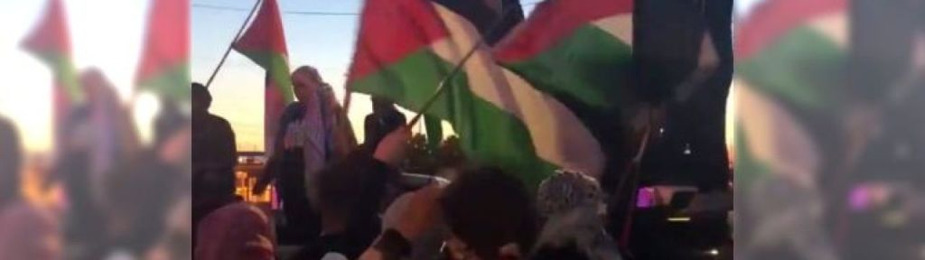 Pro-Palestine protesters blocked Mississauga railway demanding arms embargo on Israel