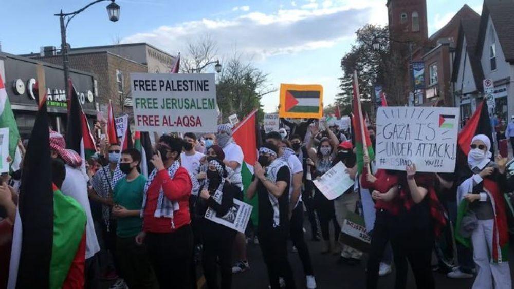 "Pro-Palestine public prayer to Allah ""the Annihilator of the People of Zion [Jews]"""