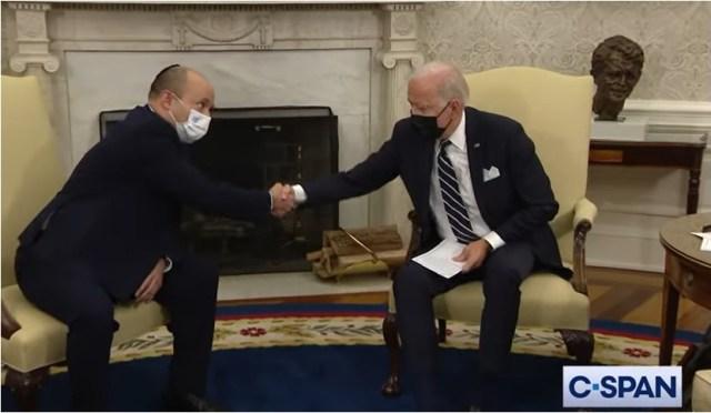 President Biden meets with Israeli Prime Minister Naftali Bennett at the White House