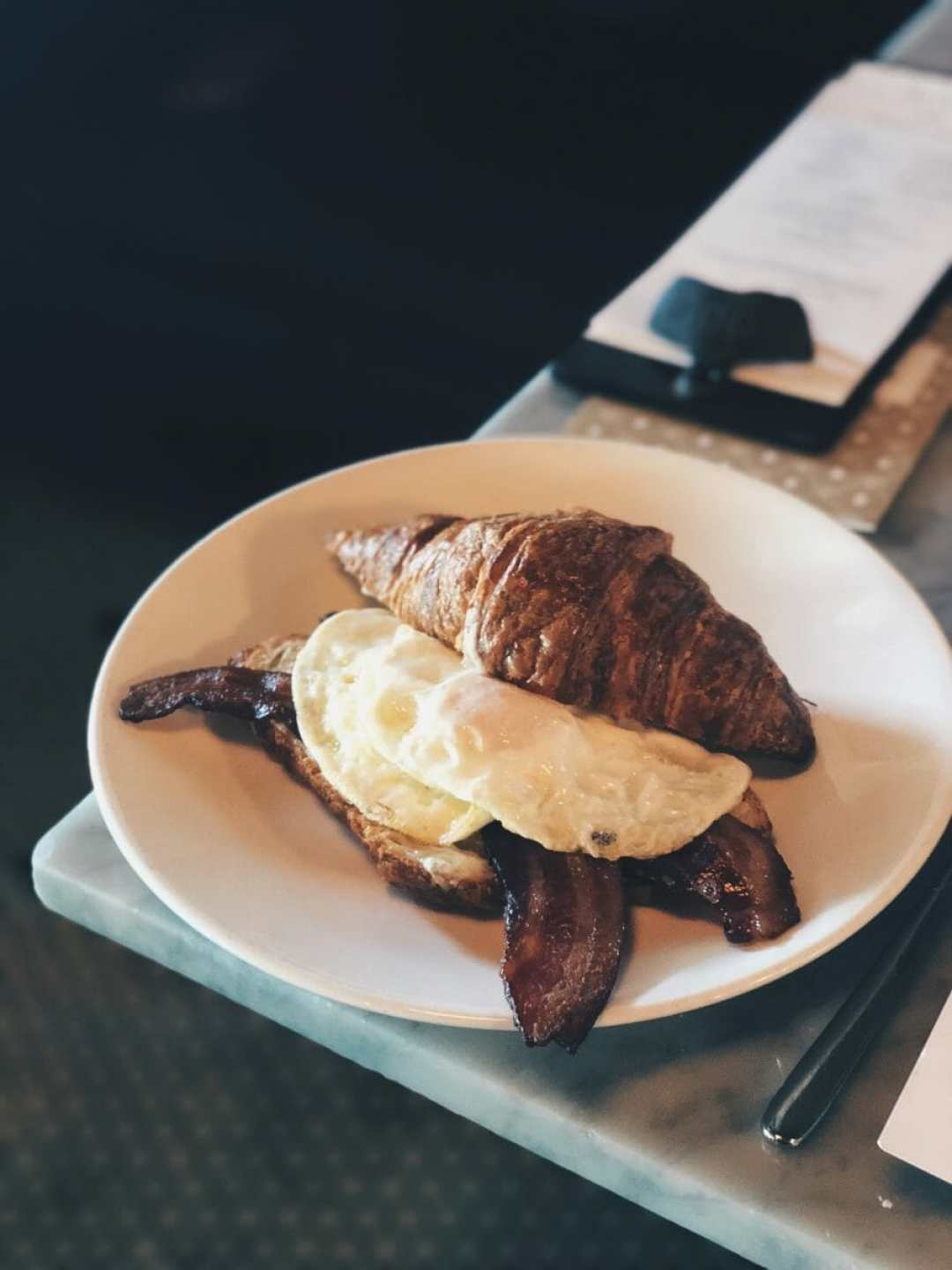Butchertown-Grocery-Louisville-KY-Bacon-Egg-Cheese-Croissant