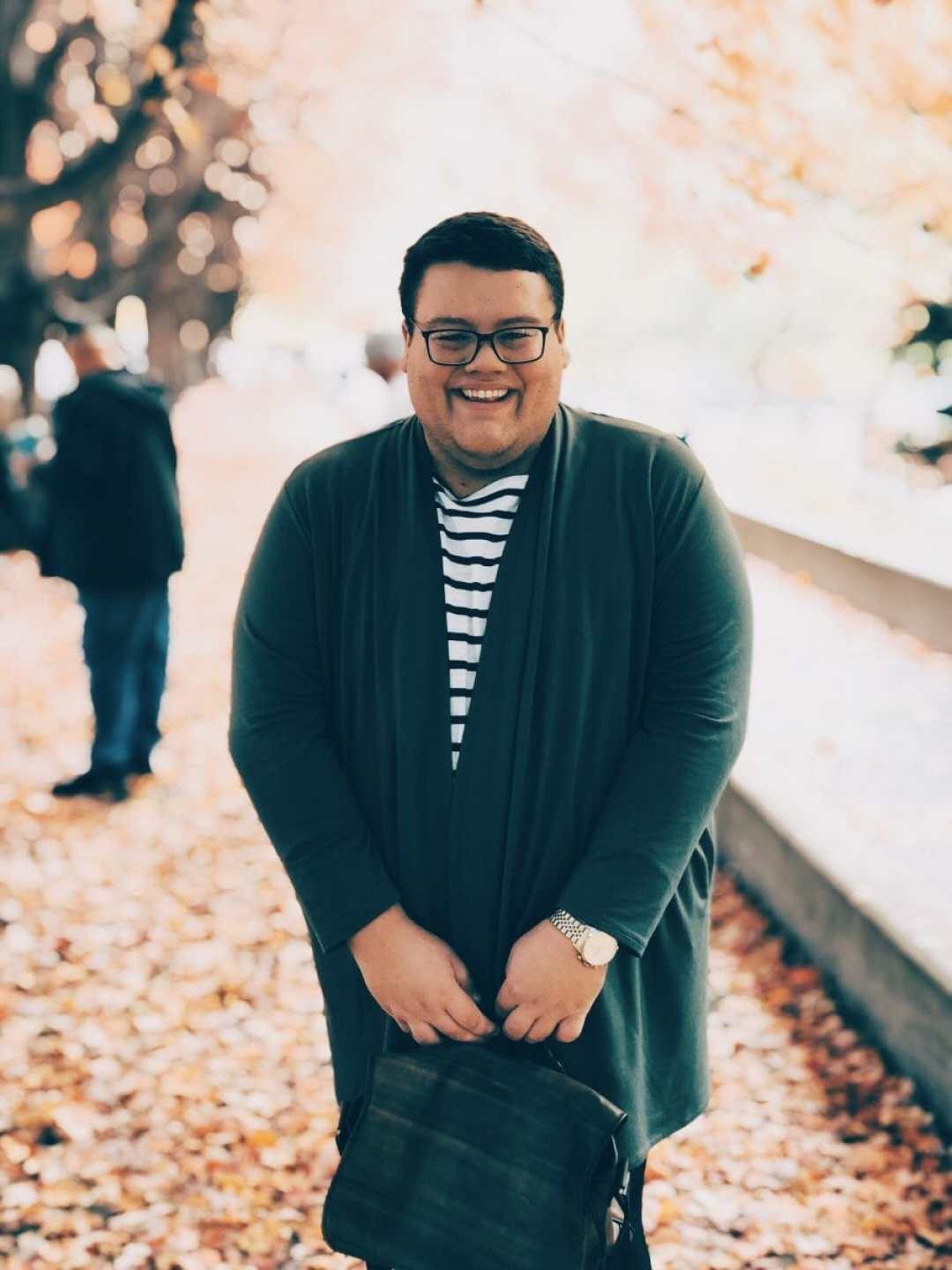 Plus-Size Male Fashion Blogger