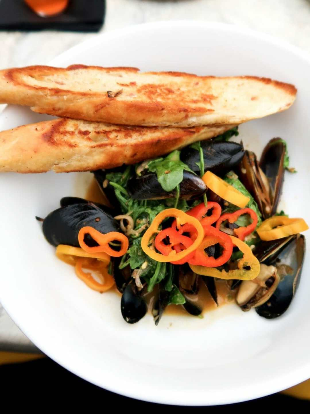 Mussels At The 502 Bar & Bistro