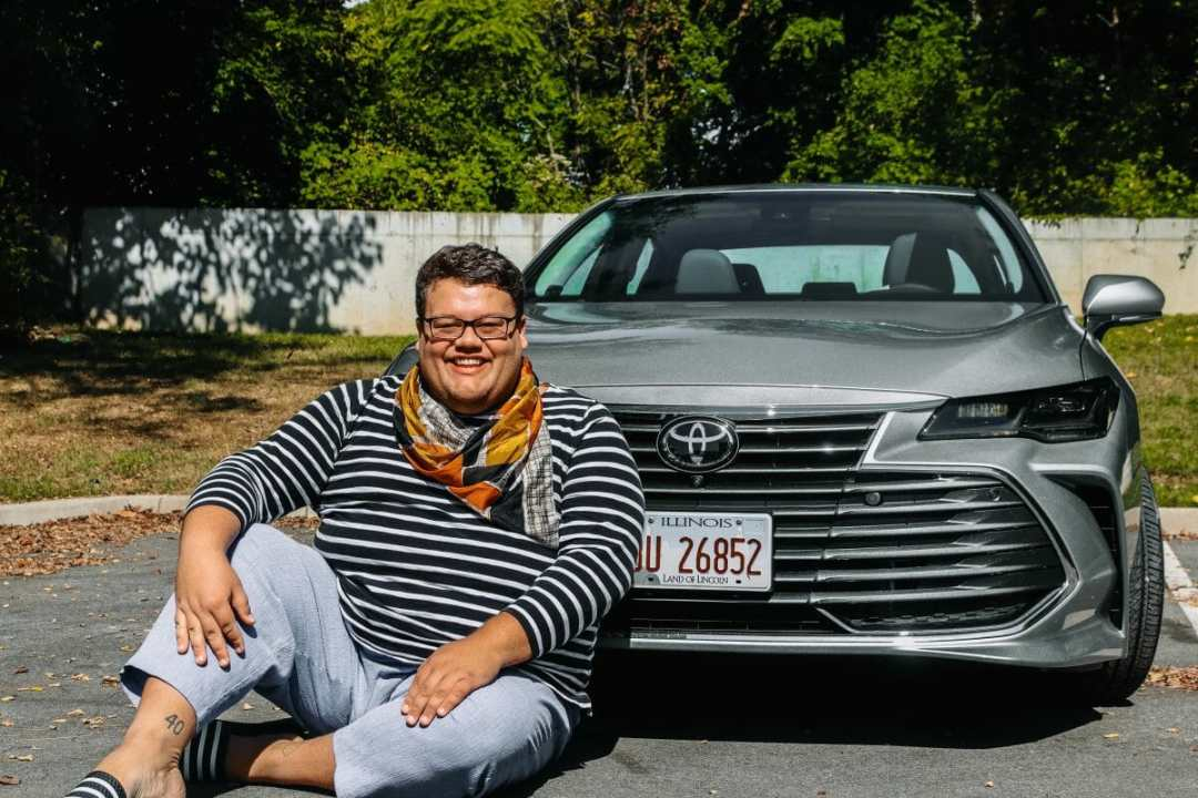 The New 2020 Toyota Avalon, JC Phelps of JCP Eats, a Kentucky-based Food, Travel, and Lifestyle Blog