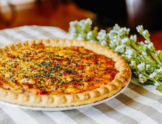 The Best Southern Tomato Pie Recipe by JC Phelps of JCP Eats