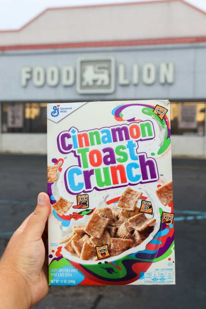 Cinnamon Toast Crunch at Food Lion