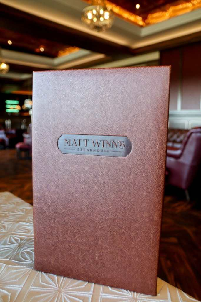 Matt Winn's Steakhouse, Churchill Downs, Louisville KY