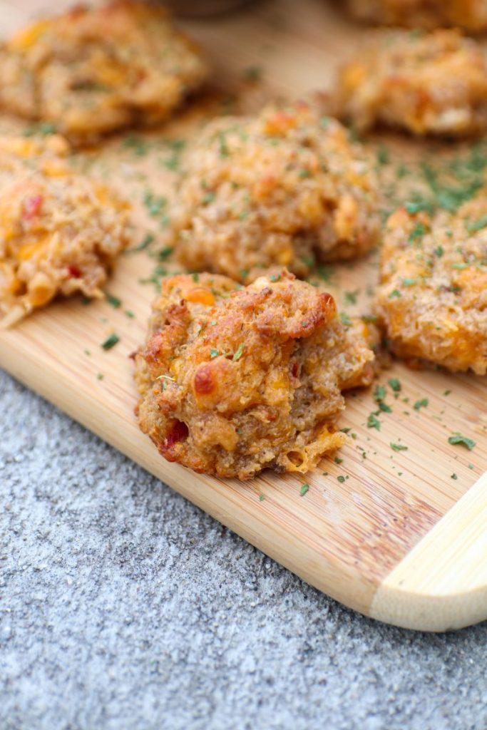 Pimento Cheese Sausage Balls
