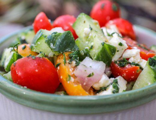 Healthy Cucumber Salad