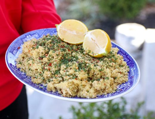 Easy Herbed Couscous Salad