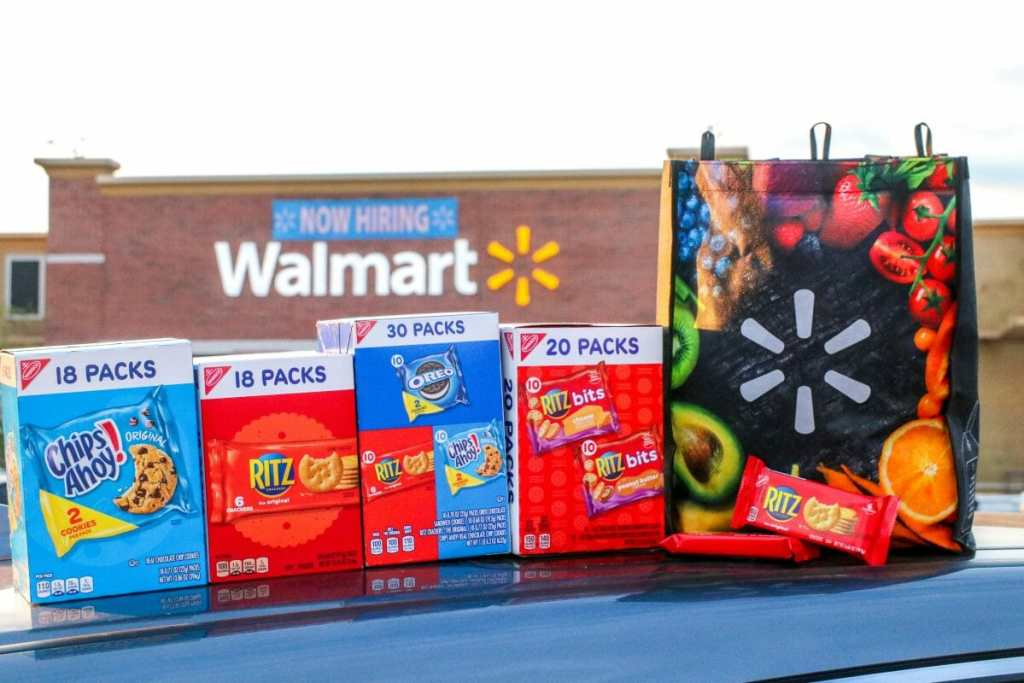 Nabisco Multipacks at Walmart