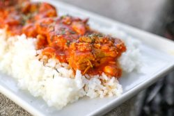 Spicy Chicken Curry with Minute Rice