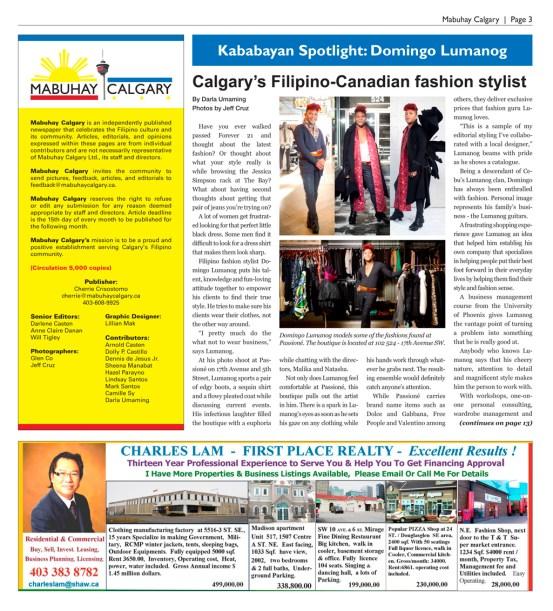 Mabuhay Calgary Kababayan Spotlight