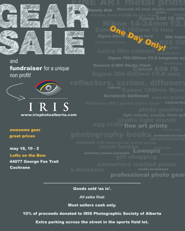 IRIS Gear Sale
